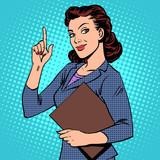 Fototapety successful female businesswoman