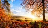 Zauberhafte Herbstszene - Fine Art prints