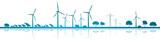 Landschaft Erneuerbare Energien