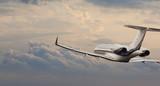 Private jet in flight - Fine Art prints