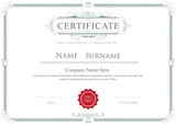 Certificate border vector elegant flourishes template