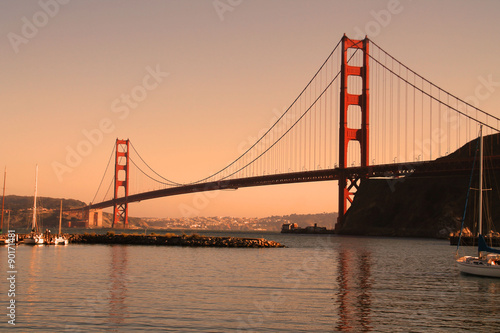 Poster Golden Gate to San Francisco
