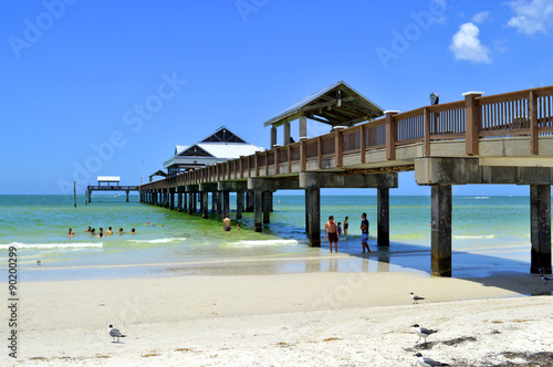 obraz PCV Pier 60 Clearwater Beach Florida