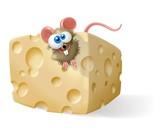 topo con il formaggio