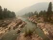 Montana wildfire smoke