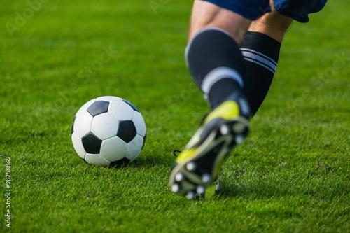 Poster Fußball.