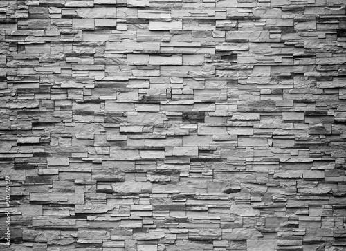 texture of the stone wall for background - 90269092