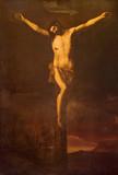 Granada - Crucifixion in church Iglesia de los santos Justo y Pastor