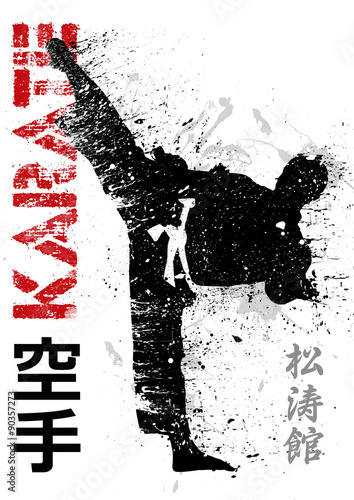 Karate chute direita