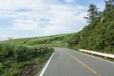 阿蘇の道路