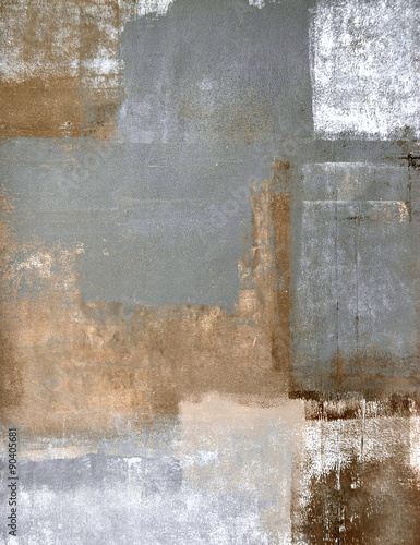 Neutral Abstract Art Painting - 90405681