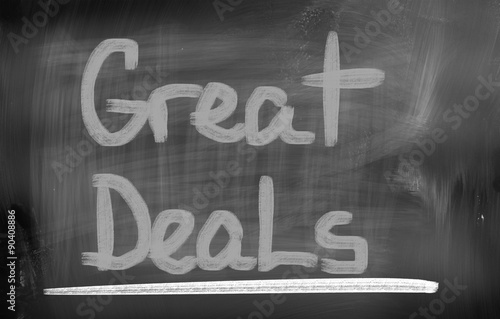 Poster Great Deals Concept