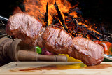 Fototapety Meat - Brazilian Barbecue