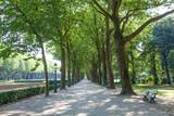 Park in Brussels, Belgium