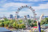 The Giant Ferris Wheel at the Prater, Vienna, Austria