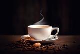 Fototapety heißer, frischer Kaffee