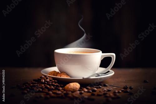 heißer, frischer Kaffee Poster