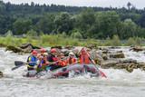 Rafting-Tour auf der Iller poster