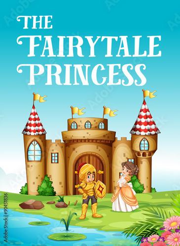 Zdjęcia na płótnie, fototapety, obrazy : Fairy tale princess and knight