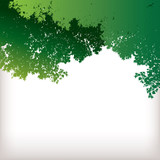 Four Tree Landscape Vector background for web or print use