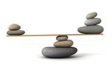 Fototapety balancing stones