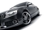 Nowoczesny czarny samochód