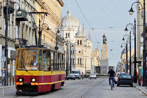 Zdjęcia na płótnie, fototapety na wymiar, obrazy na ścianę : Plac Wolności, Łódź, Polska