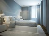 Fototapety Idea of scandinavian bedroom