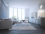 Fototapety Contemporary living room studio