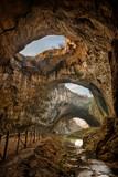 Magnificent view of the Devetaki cave, Bulgaria