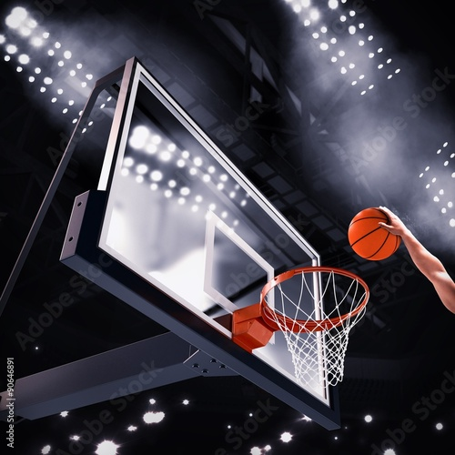 Fotografiet Player basket