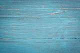 blue painted wood background - 90647625