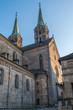 Постер, плакат: Kaiserdom Bamberg St Peter und St Georg