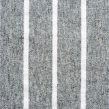 Gray and white striped cotton polyester texture poster