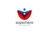 Super Hero Logo Abstract design vector. Superhero - 90674231