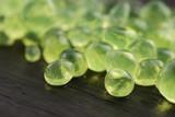 mint caviar, molecular gastronomy
