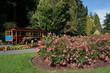 Stanley Park, Vancouver, rose garden