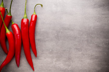 Chilli pepper.