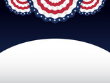 American style background for labor day, memorial day, independence day, patriot day, 4 of July. Vector illustration - 90767281