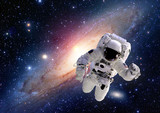 Astronaut spaceman suit outer space solar system people universe. Elements of this image furnished by NASA. - 90781239