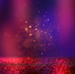 abstract blurred photo of bokeh light burst and textures. multicolored light.