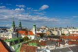 Wien - Panorama Vogelperspektive