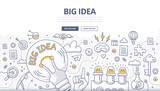 Big Idea Doodle Concept - 90820258