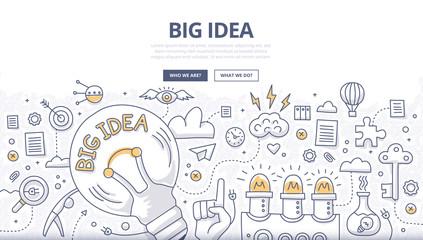 Big Idea Doodle Concept © Rassco