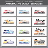 12 Generic Logo Series: Automotive Logo Templates