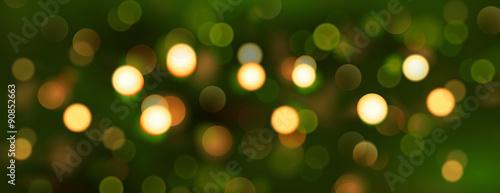 Fototapeta Bokeh - Weihnachtszeit