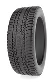 Winter tire isolated on the white background
