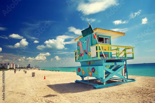 Poster, Tablou South Beach, Miami