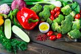 Fototapety Fresh organic vegetables