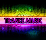 Trance Music Shows Sound Tracks And Electronic poster